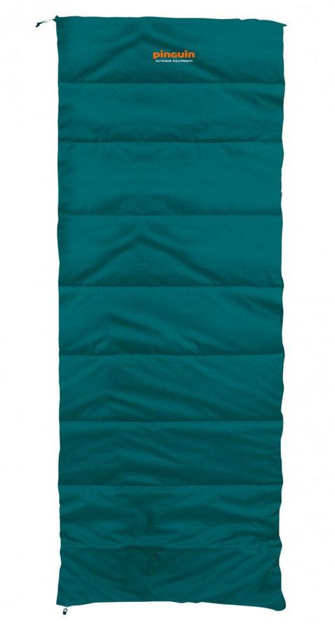 Zelený spací pytel Pinguin - délka 215 cm