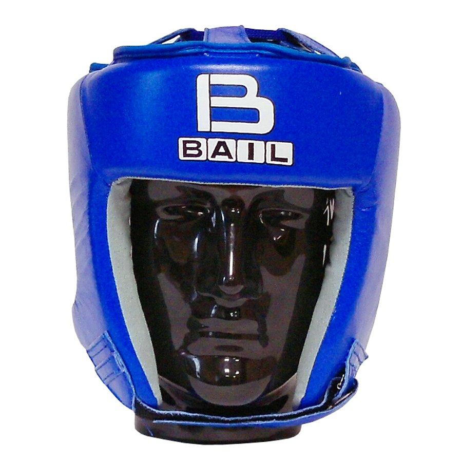 Modrá boxerská přilba Bail