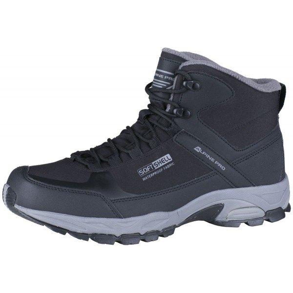 Černé pánské zimní boty Alpine Pro