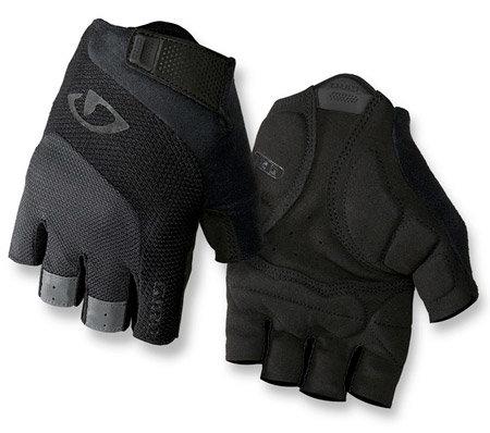 Černé cyklistické rukavice Giro - velikost S