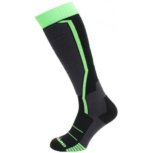 Černo-zelené lyžařské ponožky Blizzard - velikost 35-38 EU