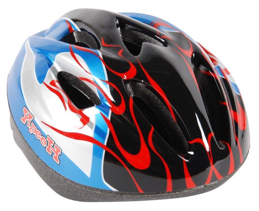 Cyklistická helma - VOLARE - Dětská přilba Deluxe, modrá / černá