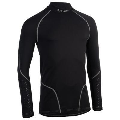 Černý pánský ragbyový dres 500, Offload - velikost XXL