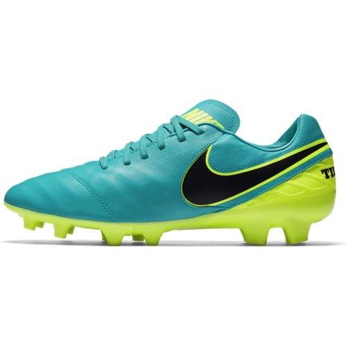 Modro-zelené kopačky lisovky Tiempo Mystic V FG, Nike - velikost 42,5 EU