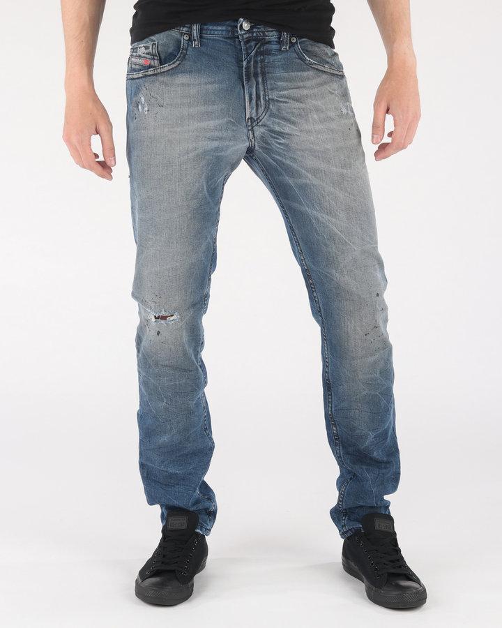 Modré pánské džíny Diesel - velikost 30