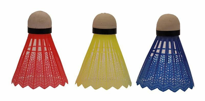 Plastový badmintonový míček SportTeam - 3 ks