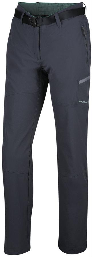 Šedé dámské turistické kalhoty Husky - velikost L