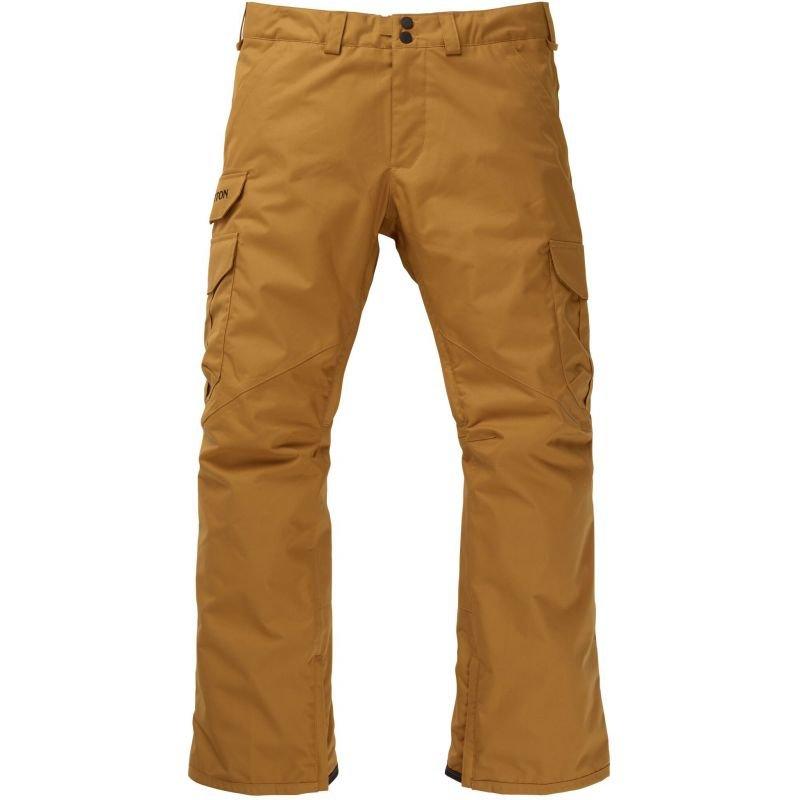 Hnědé pánské snowboardové kalhoty Burton
