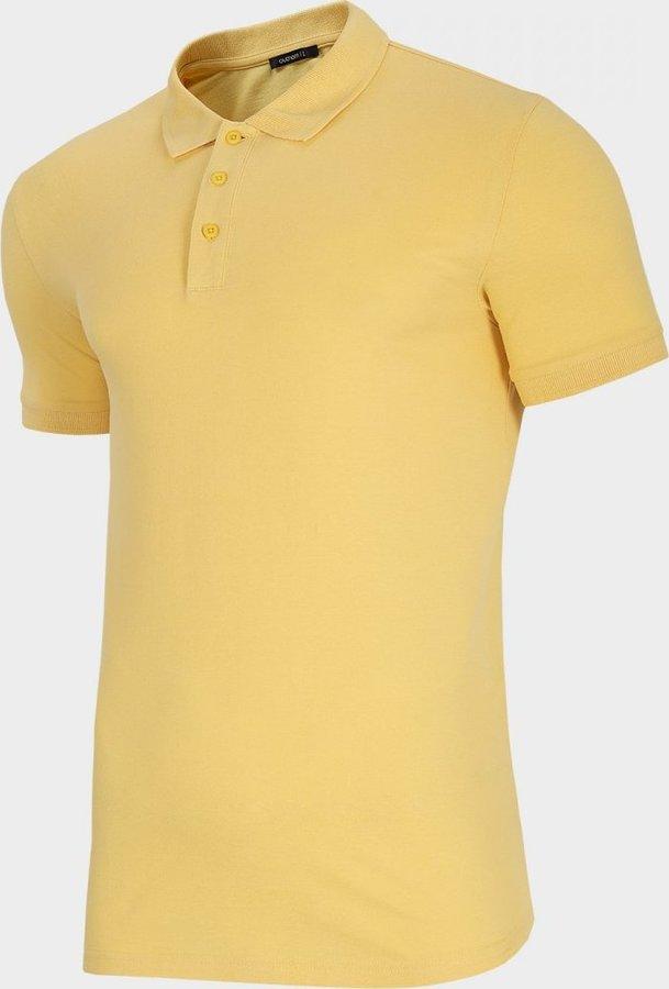 Žluté pánské tričko s krátkým rukávem Outhorn