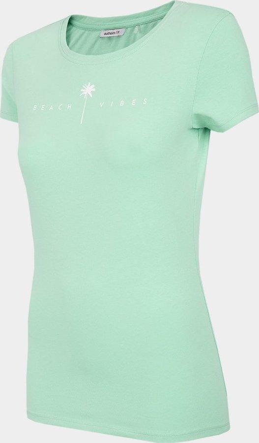 Tyrkysové dámské tričko s krátkým rukávem Outhorn
