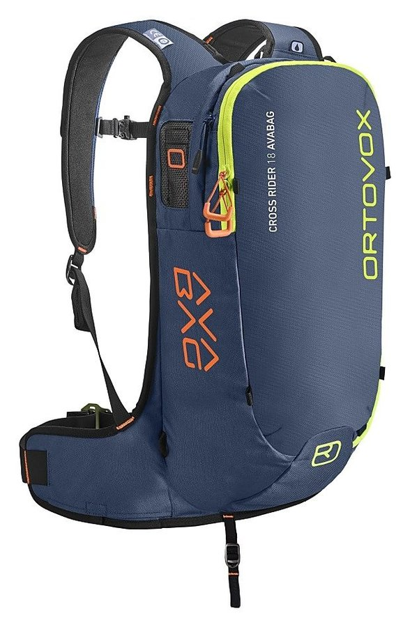Modrý lavinový skialpový batoh Ortovox - objem 18 l