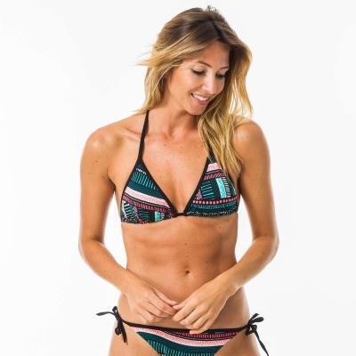 Zelené dámské plavky - vrchní díl Olaian - velikost 36