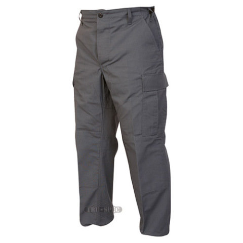Kalhoty - Kalhoty BDU P/C rip-stop TMAVĚ ŠEDÁ