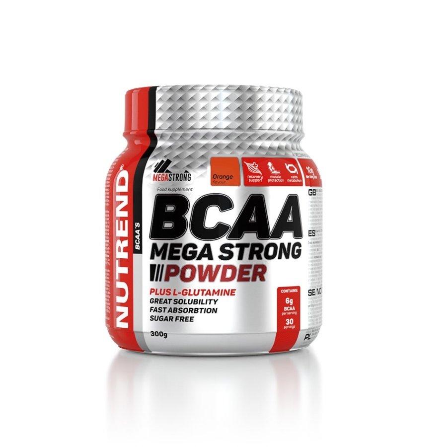 BCAA - Nutrend Bcaa Mega Strong Powder 300 g pomeranč
