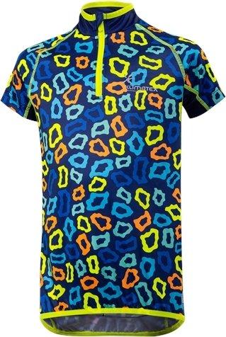 Modrý dětský cyklistický dres Klimatex - velikost 110