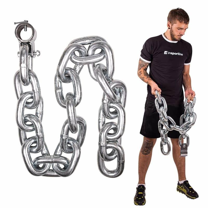 Vzpěračský řetěz inSPORTline - 30 kg