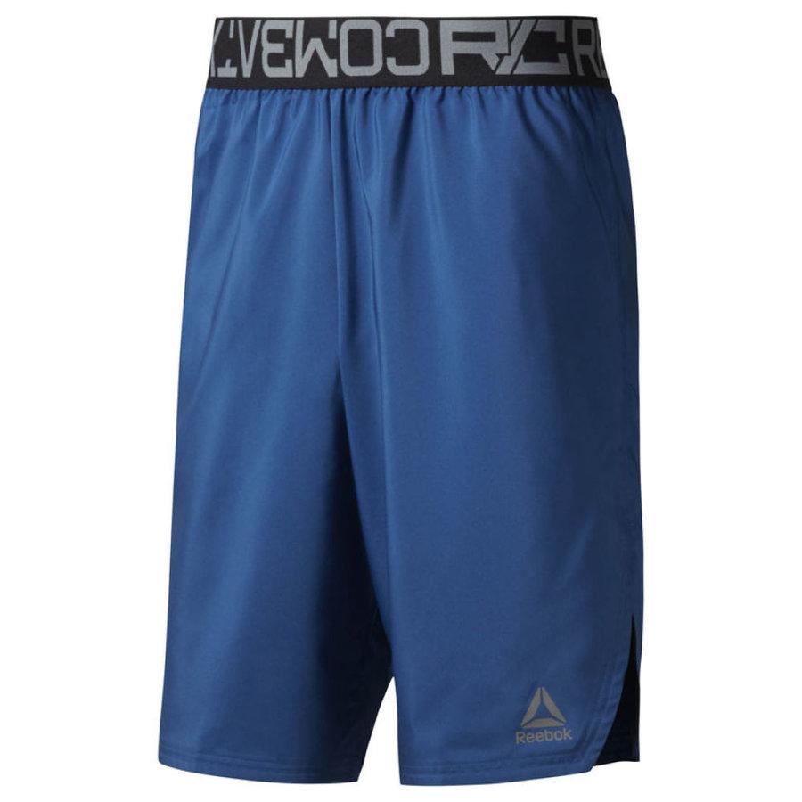 Modré unisex boxerské trenky COMBAT, Reebok