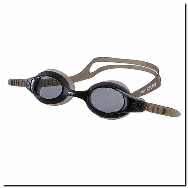 Černé plavecké brýle SIL-20 AF, SPURT