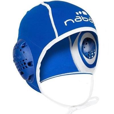 Modrá čepice na vodní pólo Nabaiji