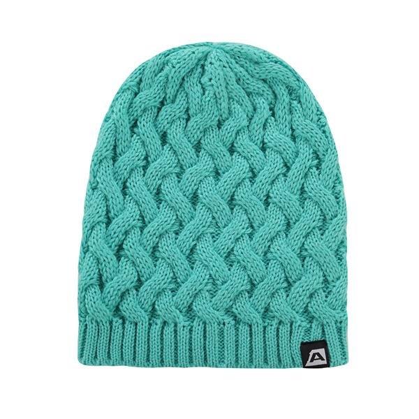 Zelená zimní čepice Alpine Pro - velikost S