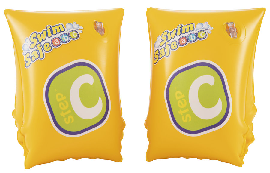 Žluté dětské nafukovací plavecké rukávky Bestway