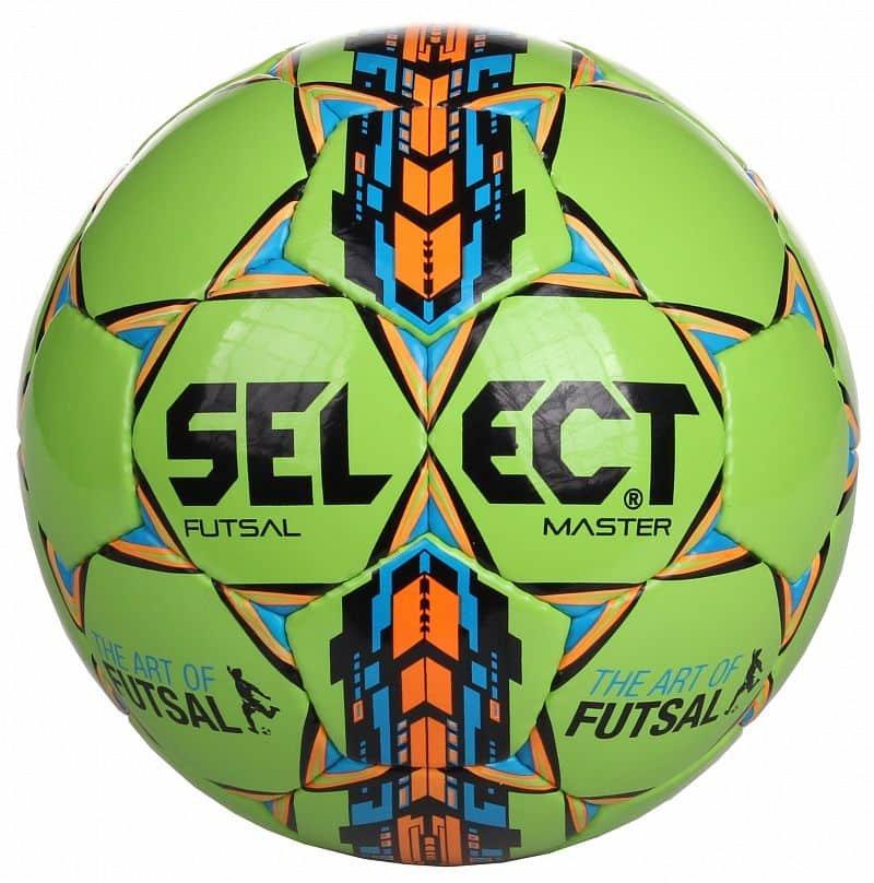 Futsalový míč - Select Master bílo-oranžový, vel.4
