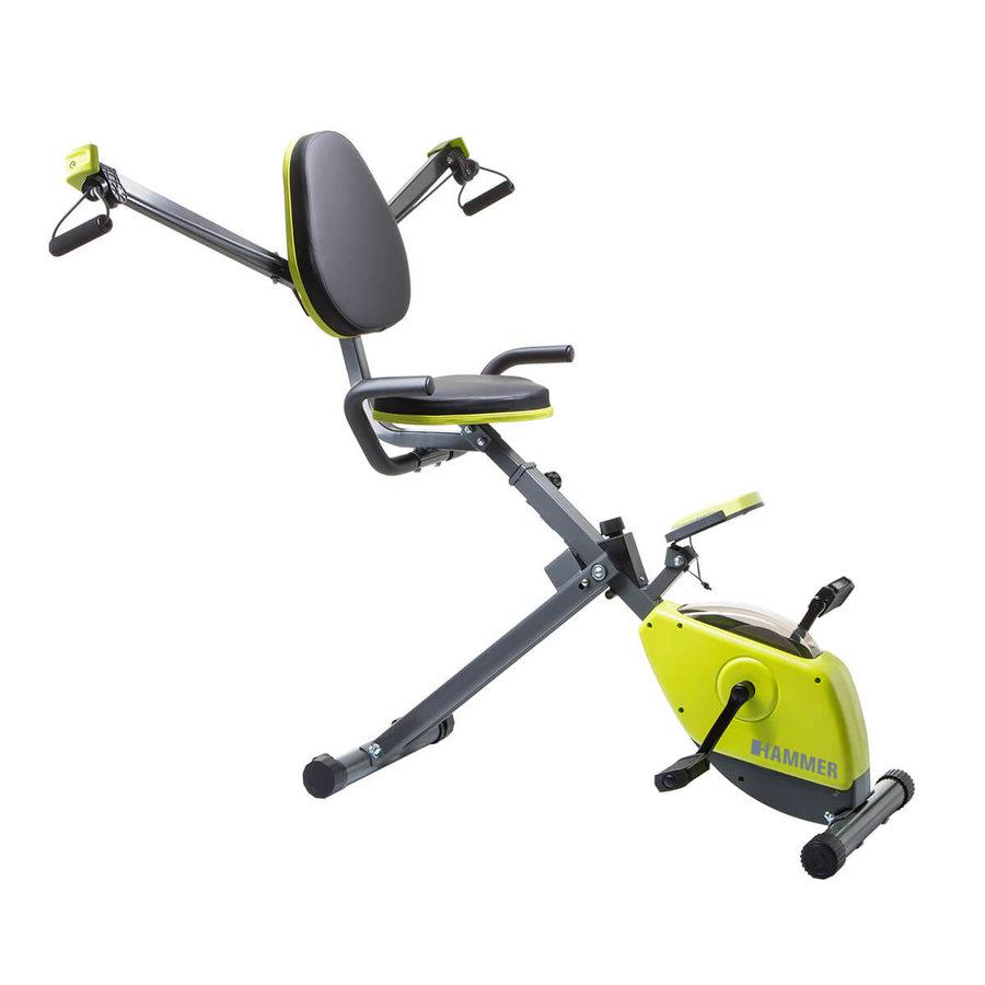 Posilovací recumbent Wonder Bike, Hammer - nosnost 100 kg