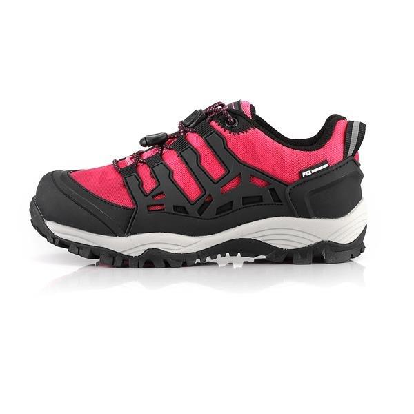 Růžové dívčí trekové boty Alpine Pro