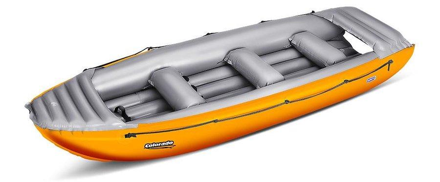 Oranžový nafukovací raft pro 6 osob Colorado, Gumotex