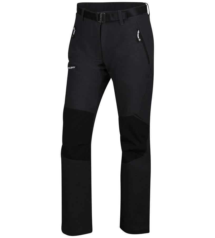 Černé dámské turistické kalhoty Husky