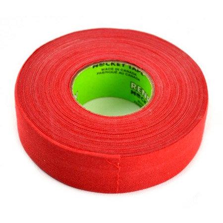 Červená hokejová páska na čepel Scapa - délka 25 m