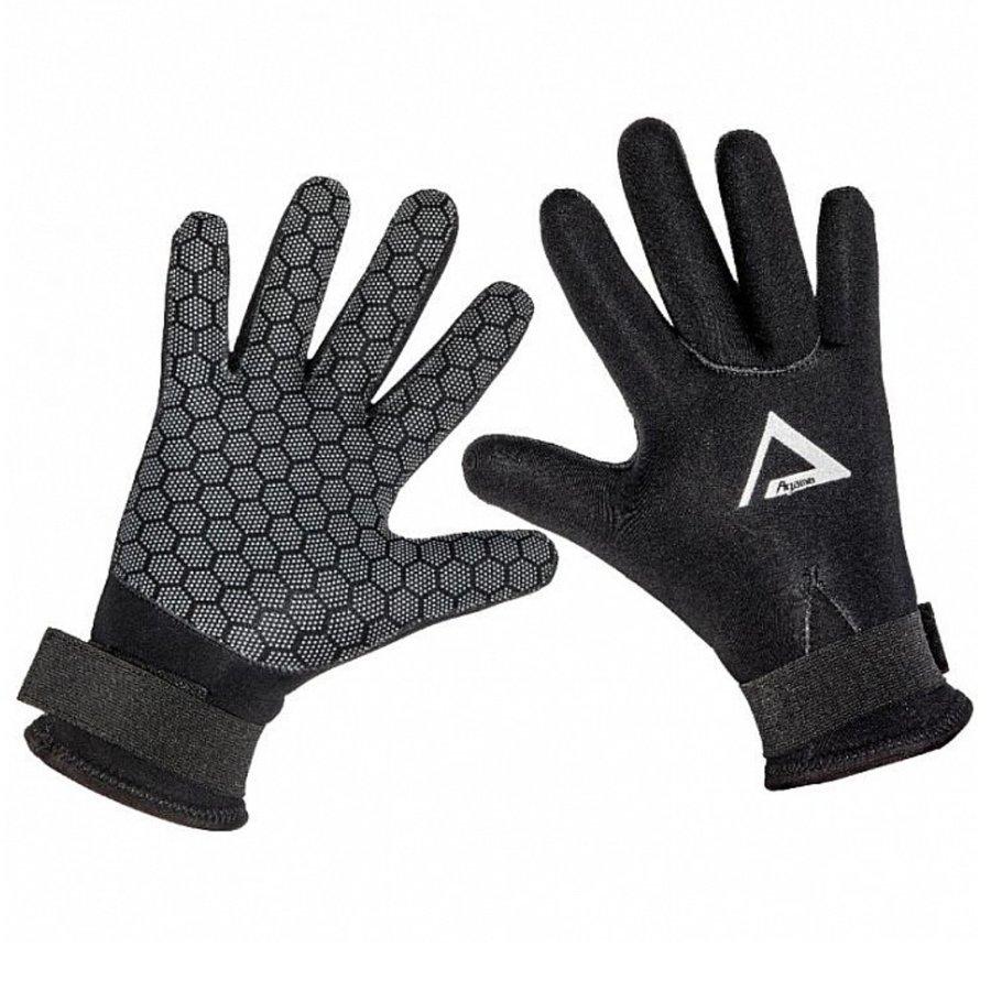 Černé neoprenové rukavice Superstretch, Agama