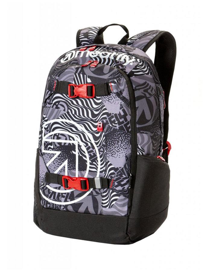 Batoh - Meatfly Basejumper 4 Backpack H - Numb Black Velikost: JEDNOTNÁ VELIKOST