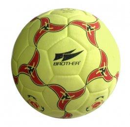 Žlutý fotbalový míč Brother - velikost 5