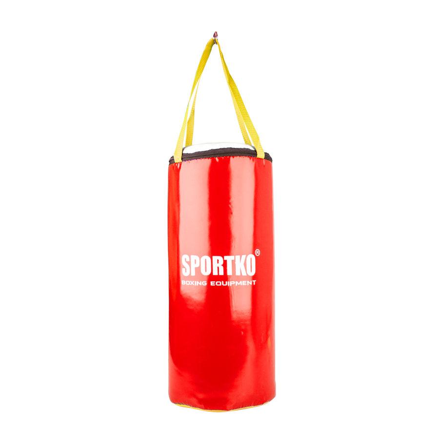 Červený boxovací pytel SportKO - 5 kg
