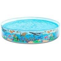 Dětský nafukovací nadzemní kruhový bazén INTEX - průměr 244 cm a výška 46 cm