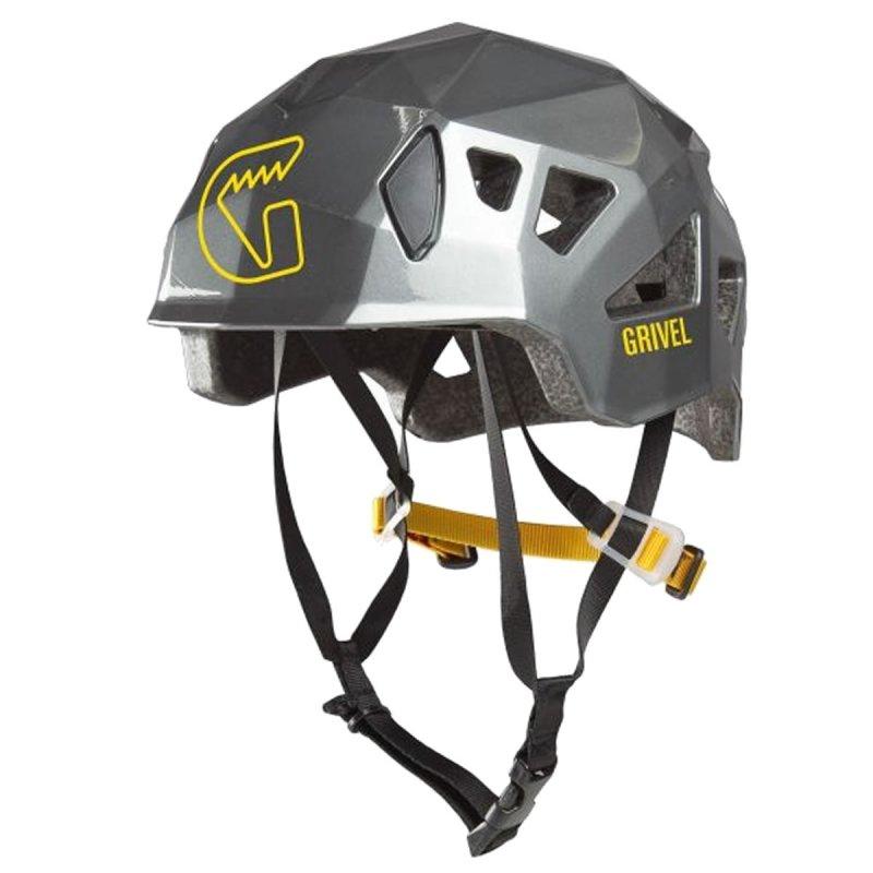 Stříbrná horolezecká helma Stealth, Grivel - univerzální velikost