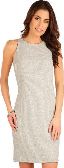Šedé dámské šaty Litex