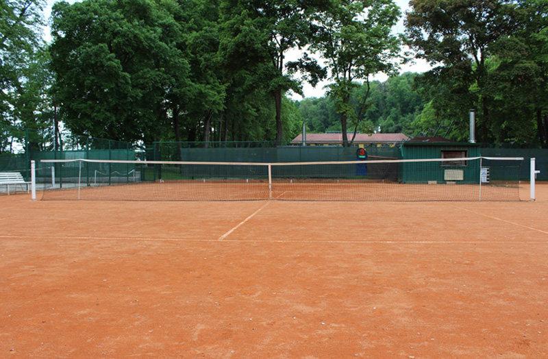 Černá tenisová síť Standart, Pokorný sítě