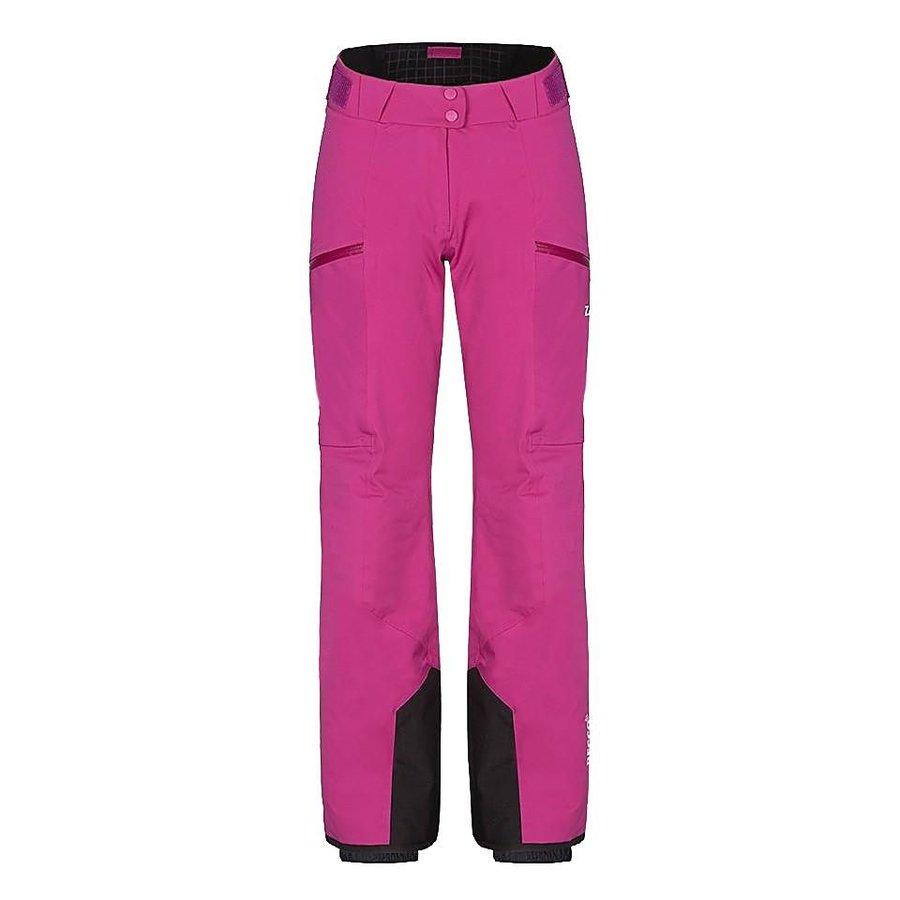 Růžové dámské lyžařské kalhoty Zajo