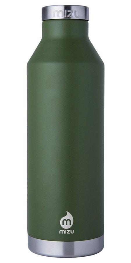 Zelená termoska na pití Mizu - objem 0,75 l