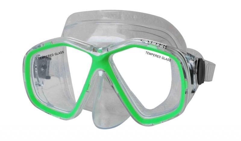 Potápěčská maska - Potápěčská maska CALTER JUNIOR 276P, zelená