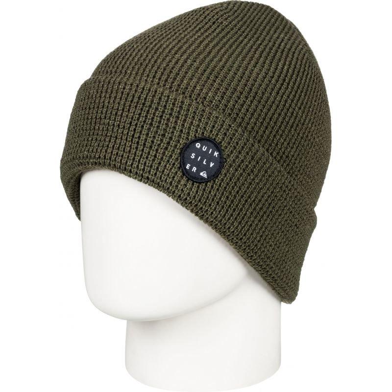 Zelená zimní čepice Quiksilver - univerzální velikost