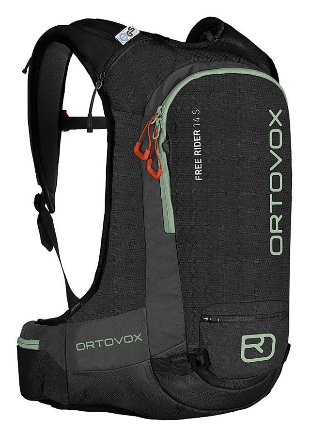 Černý skialpový batoh Ortovox - objem 14 l