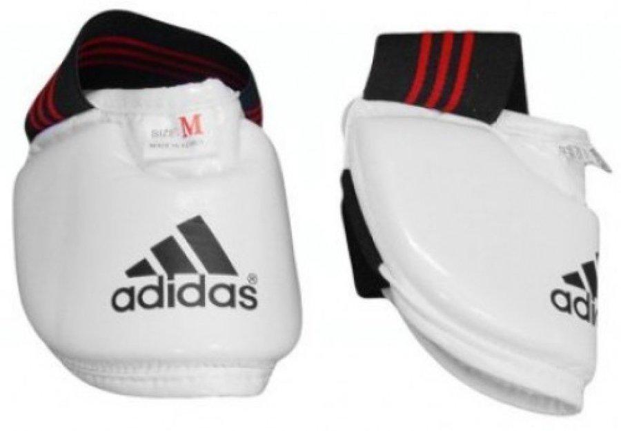 Bílé chrániče na nohy Adidas