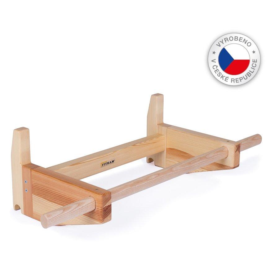 Dřevěná závěsná hrazda na ribstole FITHAM
