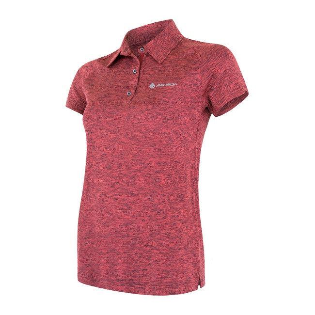 Růžové dámské tričko s krátkým rukávem Sensor