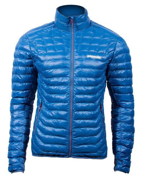 Modrá zimní pánská bunda na běžky Pinguin