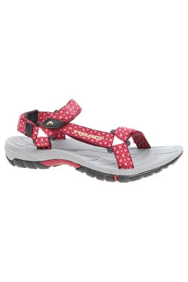 Červené sandály Rejnok Dovoz