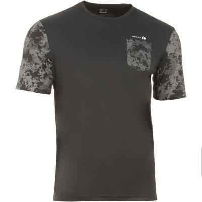 Šedé pánské tenisové tričko Artengo - velikost XXL